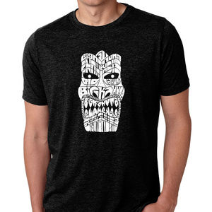 Premium Blend Word Art T-shirt - TIKI - BIG KAHUNA